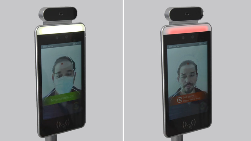 Face Recognition Body Temperature